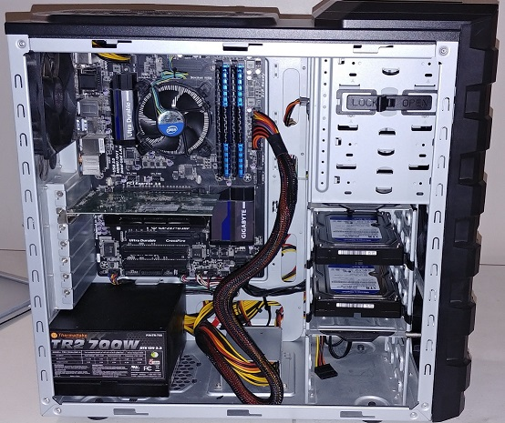 Build your desktop computer from scratch